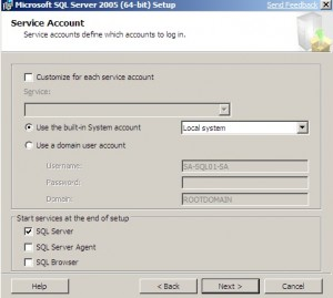 Windows 2008R2 features part III: Managed Service Accounts –