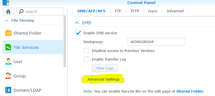 Breaking the 1Gbps barrier with Synology and Windows 10 –