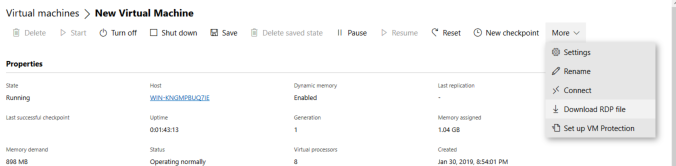 Managing Hyper-V Standalone with OSX –